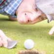 Stock Photo: Golf Lunatic