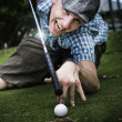 Golf Or Pool — Foto Stock