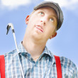 Royalty-Free Stock Photo: Mad About Golf