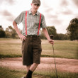 Vintage Golf — Stock Photo