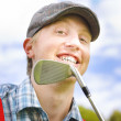 Stock Photo: Golfing Fairway Portrait