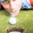 Stock Photo: Wacky Golf