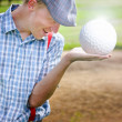Stock Photo: The Golf Of Big Balls