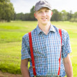 Golfing Lifestyle Portrait — Stock Photo
