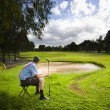 Royalty-Free Stock Photo: Golf Course
