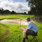 ゴルファー — ストック写真