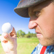 Golf Mid Game Crisis — Stock Photo