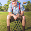 Stock Photo: Golf Club Pro