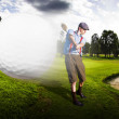 Top Flight Golf - Stock Photo
