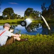 Golf Problem — Stock Photo