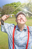 Funny Golf — Stock Photo