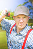 Golfing Dispute — Stock Photo