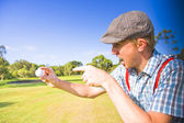 Angry Golf — Stock Photo