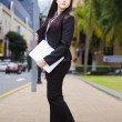 Business Online And On The Move - Stockfoto