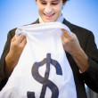 Stock Photo: Financial Reward Of Business Success