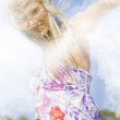 Dancing Dream Girl — Stockfoto