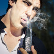 Stock Photo: Smoking Gun