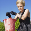 Stock Photo: Lizas Leaking Bucket