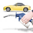 Petrol Bowser Pump — Stock Photo