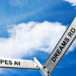 Crossroads Of Hopes And Dreams - Stock Photo