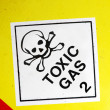 Stock Photo: Toxic Gas