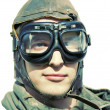 Stock Photo: Retro Aviator