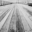 Stock Photo: Boardwalk Of Distance