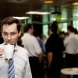 Conference Coffee Break — Stock Photo