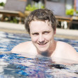 Holiday Resort Man — Stock Photo
