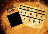 Police Criminal Record File — Stock Photo
