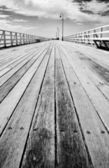 Boardwalk Of Distance — Stock Photo