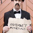 Royalty-Free Stock Photo: Budget Funerals