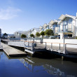 Dockside Apartments — Stock Photo