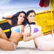 Beach Babes — Stock Photo #10588366