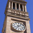 City Hall Clock Tower - Stock Photo