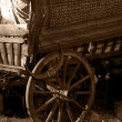 Stock Photo: Gypsy Wagon