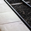 Stock Photo: Platform Particulars