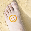 Happy Feet — Stock Photo