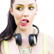 Bad Taste In Music - Stock Photo