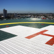 Hospital Helipad - Foto Stock