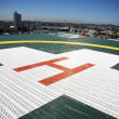 Building Top Helipad — Stockfoto
