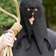 Stock Photo: Gallows HangmWith Noose