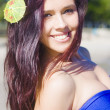 Hawaiian Girl In Hawaii — Stockfoto