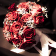 Rose Wedding Bouquet — Stock Photo