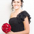 Bright Eyed Bridesmaid — Stok fotoğraf