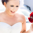 Bride On The Big Day — Stock Photo