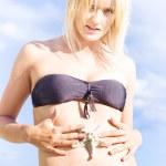 Beach Body Confidence — Stock Photo