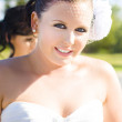 Gorgeous Bridal Makeup - Stock Photo