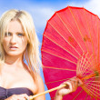 Beach Umbrella — Stock Photo #10589518