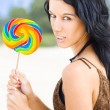 Fierce Candy Craving - Stock Photo